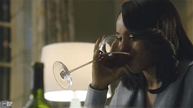 Onde comprar as taças de vinho de Olivia Pope