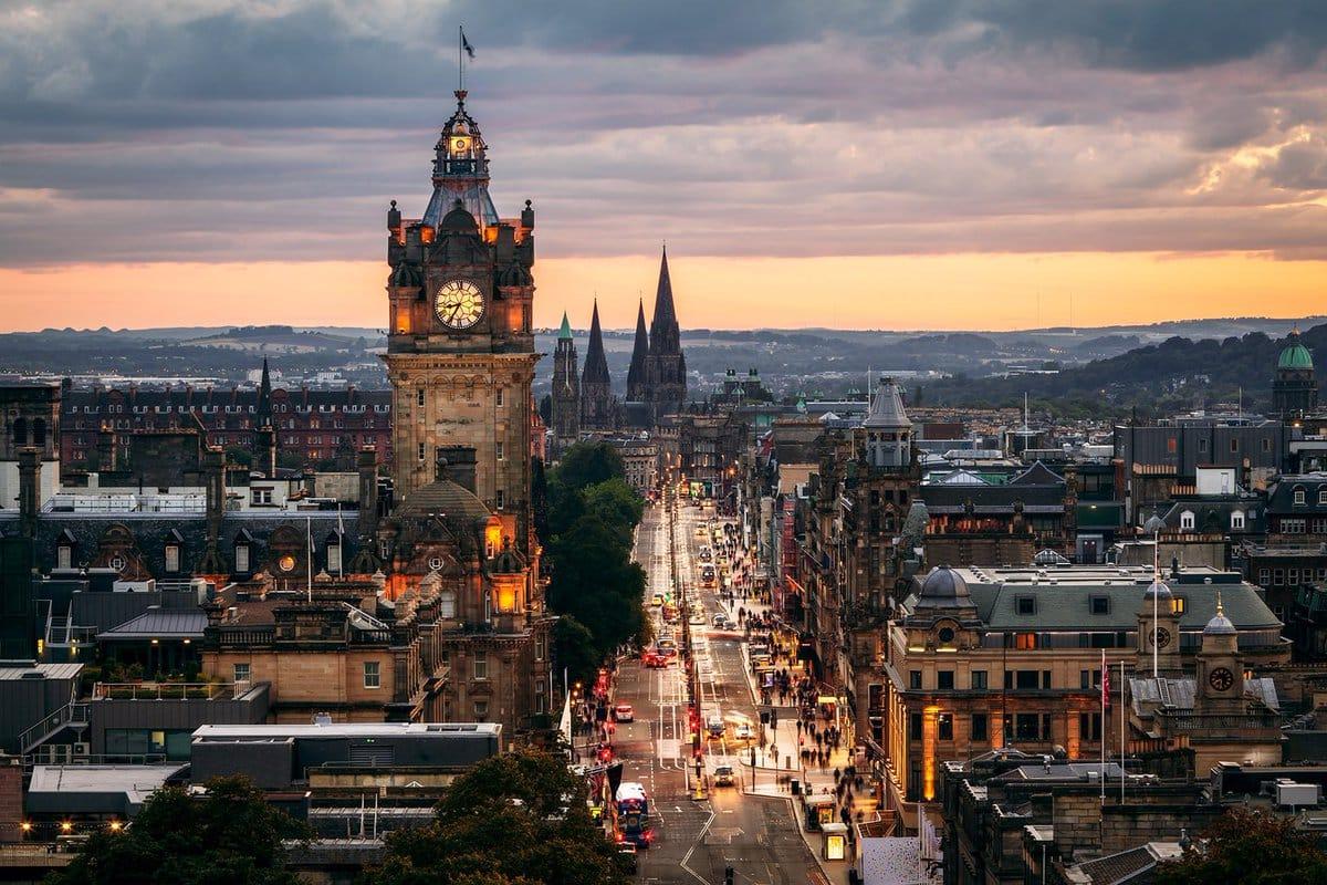 Guia De Viagem E Restaurantes Em Edimburgo Esc 243 Cia