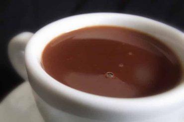 O melhor chocolate quente do mundo