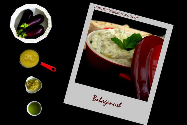 Babaganoush com 4 Ingredientes®