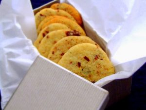 Cookies de Baunilha com chocolate
