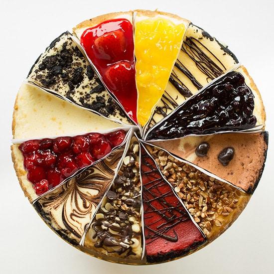 Cheesecakes: clássicos de NYC