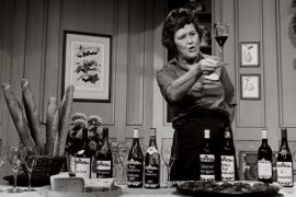 Julia Child e os vinhos