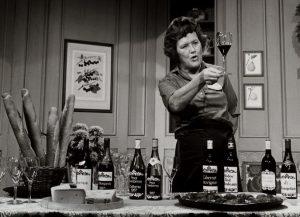 Julia Child e os vinhos