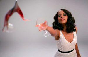 Olivia Pope não vive sem vinho