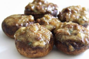 Receita de Cogumelos recheados com gorgonzola