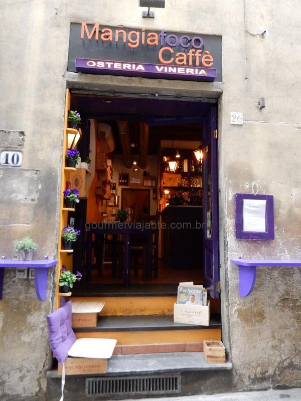 Dicas de restaurantes e os melhores wine bars de Florença