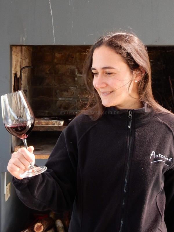Visita à vinícola Artesana, Uruguai