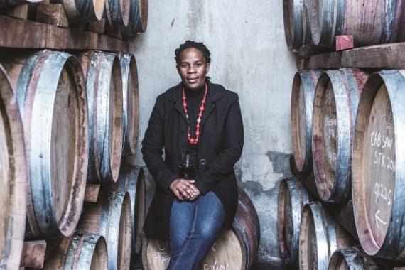 Ntsiki Biyela, a primeira dama do vinho sul-africano
