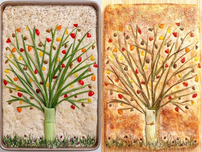 Focaccia gardens: jardins comestíveis