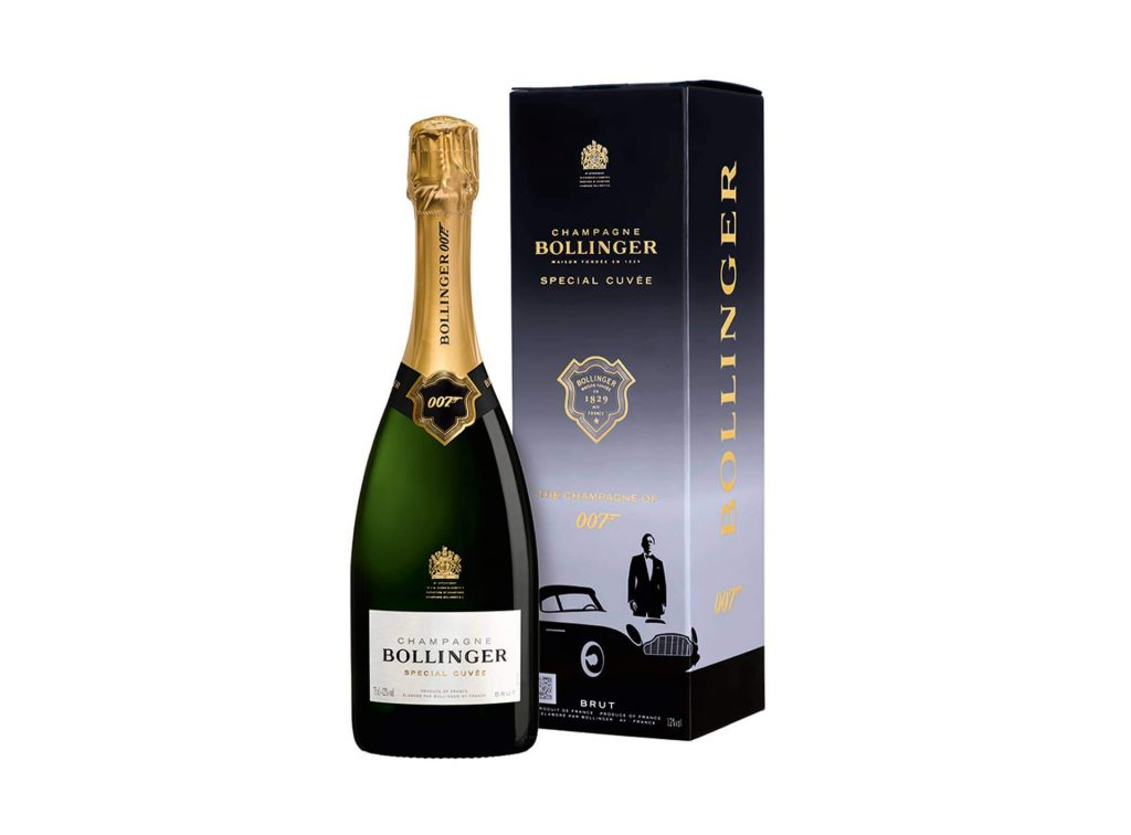 Maison Bollinger lança o Champagne Oficial de James Bond