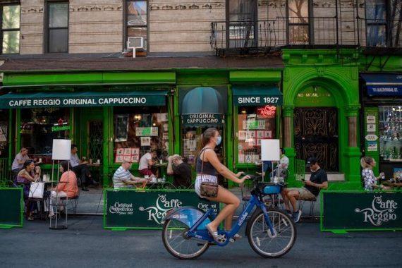 Restaurantes com área externa em Nova York