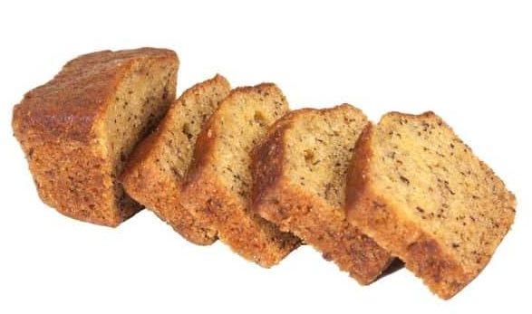 Banana bread com chocolate com 4 ingredientes