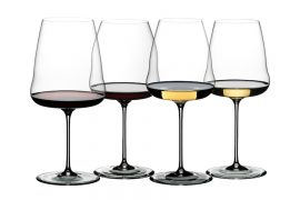 As taças Winewings da Riedel têm 7 formatos