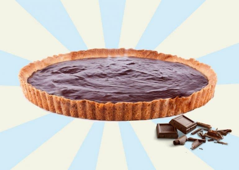 Torta de chocolate fácil com 4 Ingredientes e sem assarcom apenas 4 Ingredientes e sem assar
