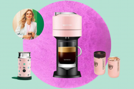 Chiara Ferragni lança coleção com a Nespresso