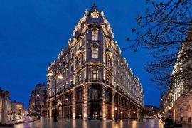 Matild Palace Hotel de luxo em Budapeste