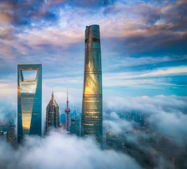 J Hotel Shanghai tower altura